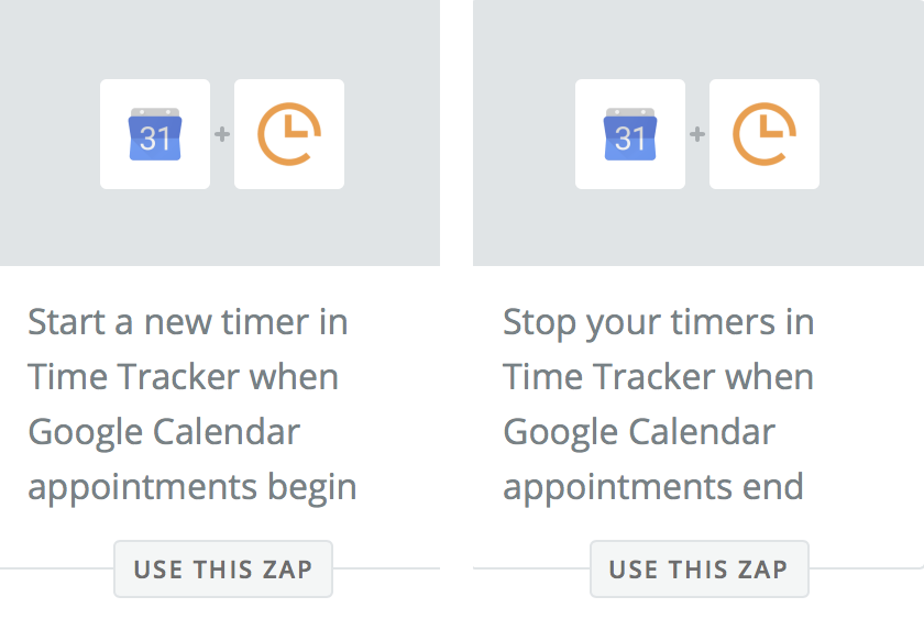 Timers in Time Tracker