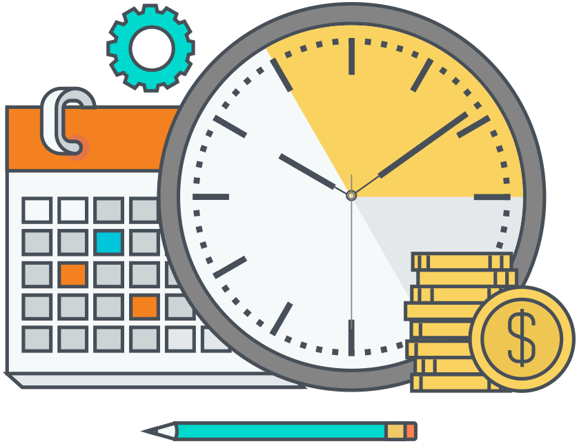 Timesheets and payroll tracking