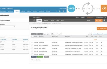 Xero Payroll +Time Tracker