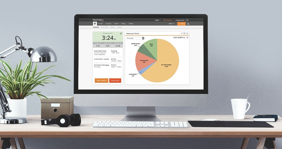 Time Tracking Software From Any Device, Anywhere | eBillity