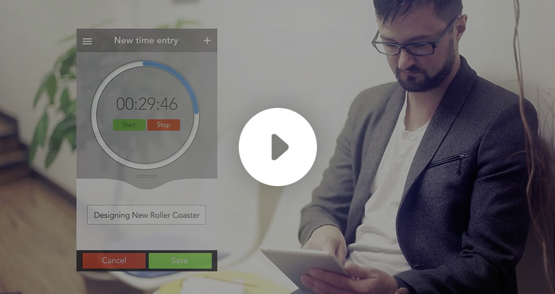 Time Tracker + QuickBooks video