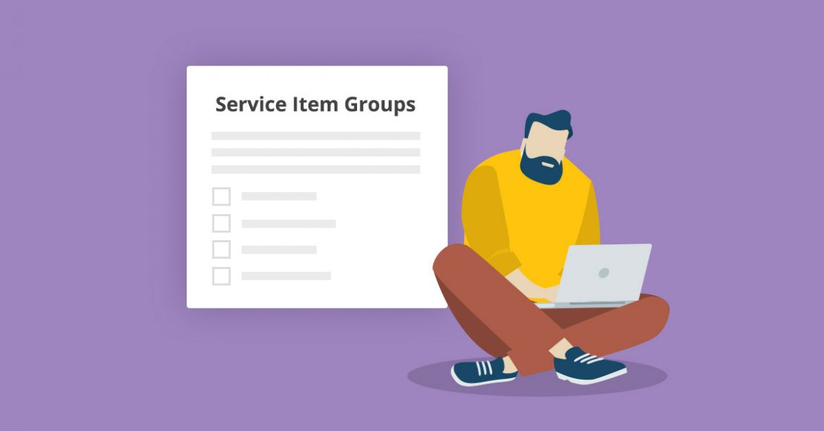 Manage Service Items Group