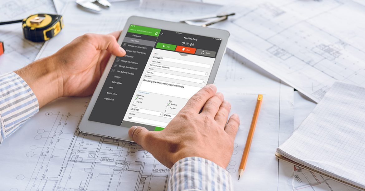 Time tracking for Architecture firms
